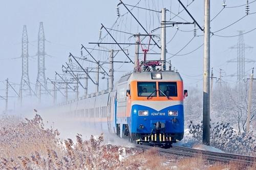 Поезд Независимости прибыл на конечную станцию