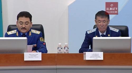 В Алматы появились прозрачные кабинеты для допросов