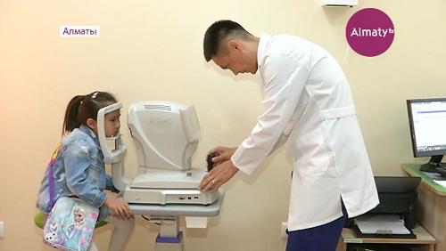 В Алматы открылась новая поликлиника