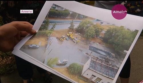 Запретить строительство заправок около домов просят жители в Алматы