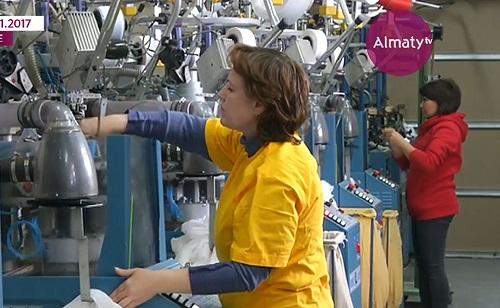 Единственный в Казахстане завод по производству колготок увеличит объемы производства