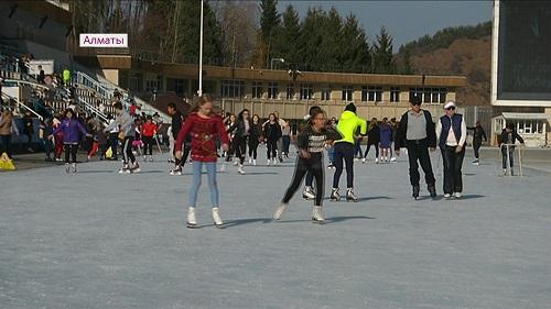 Бесплатные ледовые катки этой зимой появятся в Алматы