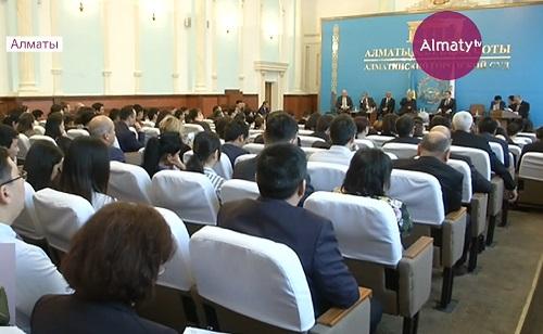 О духовной модернизации общественного сознания говорили в городском суде Алматы