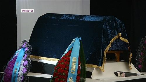 С народным писателем Музафаром Алимбаевым простились в Алматы