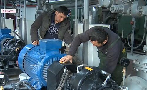 В Алматы провели модернизацию Юго-Восточной котельной