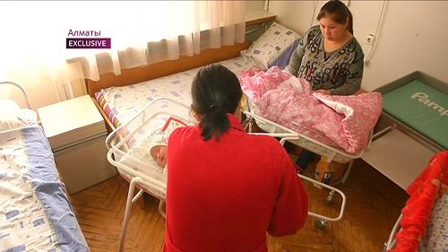Малыш-гигант родился в Алматы