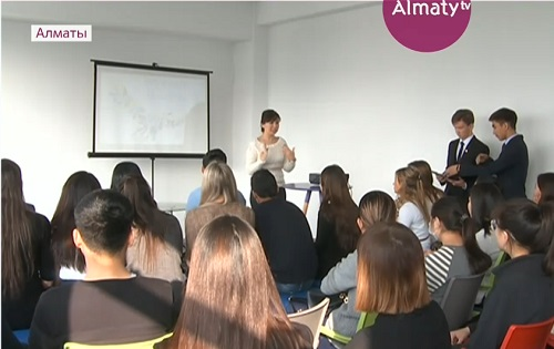 В Алматы активисты молодёжного клуба  обсуждали тайм-менеджмент
