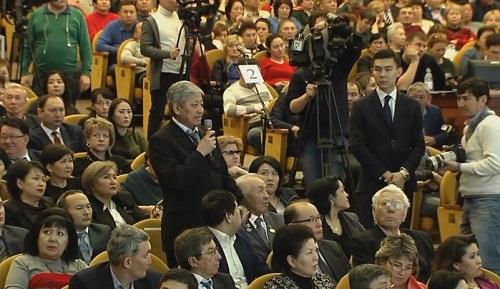 На отчетной встрече аким Алматы рассказал  о дальнейшем  социальном развитии города