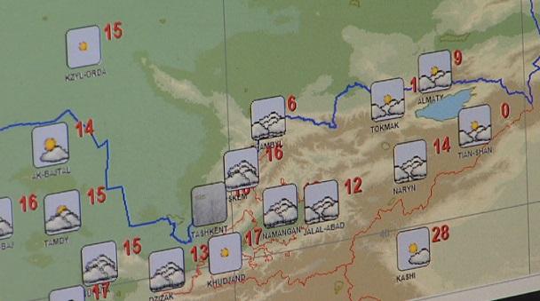 Казгидромет: резкие перепады температур в Алматы еще возможны