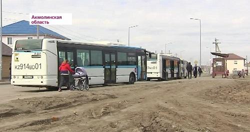 Более 10 тысяч жителей пригорода Астаны лишились бесплатного проезда в автобусах