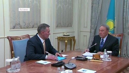 Зампред АНК доложил Президенту о подготовке к сессии Ассамблеи