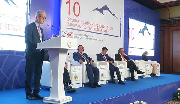 В Алматы представители более 50 стран примут декларацию Красного креста и Красного полумесяца