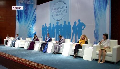 """Иностранные студенты займутся популяризацией  """"Рухани жаңғыру"""" у себя на родине"""