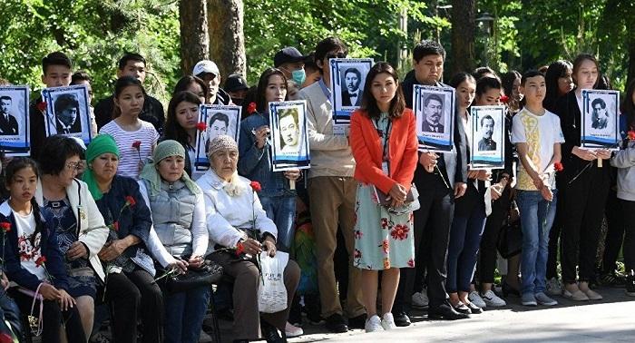 В Алматы почтили память жертв голода 1931-1933 годов