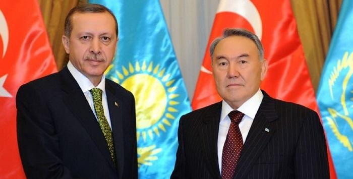 Нурсултан Назарбаев поздравил Реджепа Тайипа Эрдогана с победой на президентских выборах