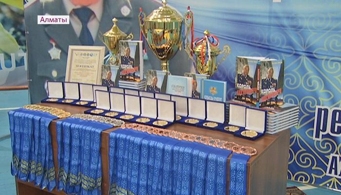 В Алматы более 100 военных спортсменов страны боролись за Кубок Кара майора по рукопашному бою