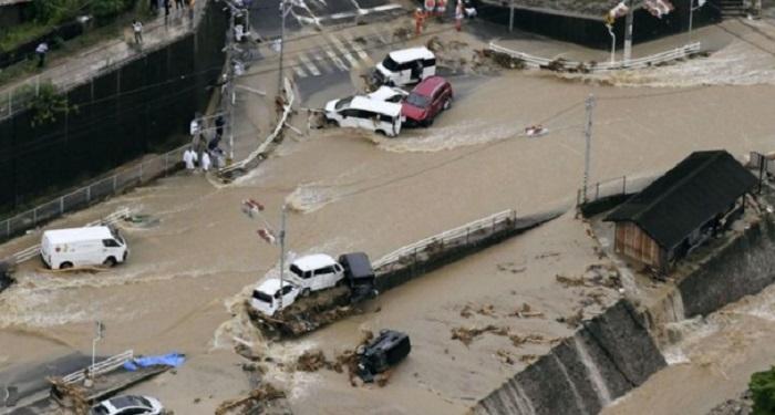Наводнение в Японии: стихия унесла жизни 100 человек