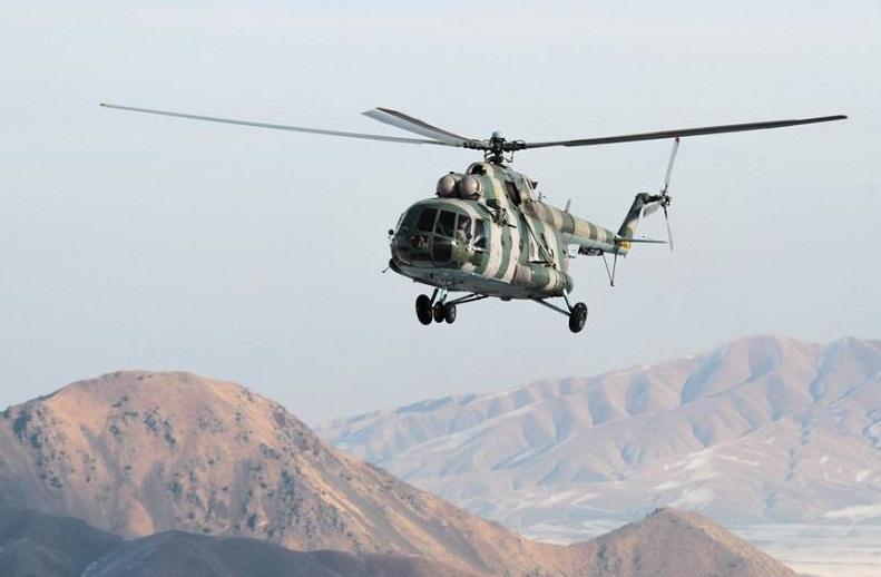 Потерпел крушение вертолет Вооруженных сил Кыргызстана