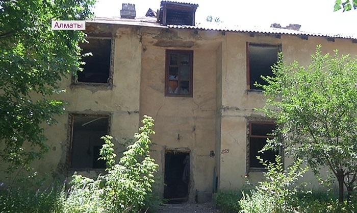 В Алматы снесут порядка 500 ветхих и аварийных домов