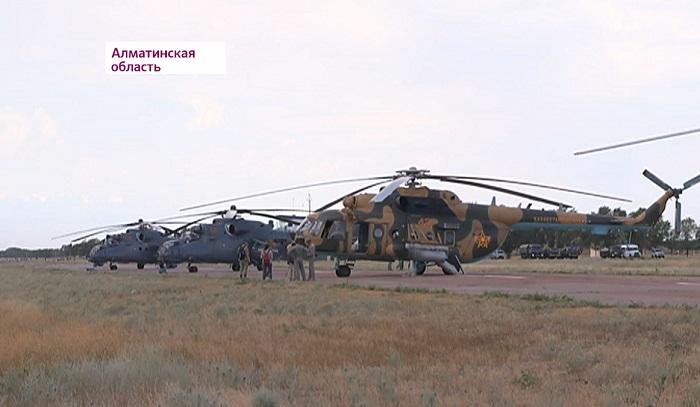 Приведены в боевую готовность: казахстанские военные провели учения в преддверии Армейских игр-2018