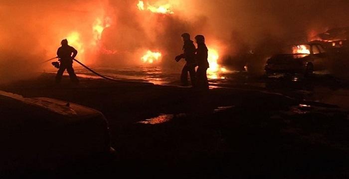 Штрафстоянка в Шымкенте выплатит ущерб водителям сгоревших автомашин