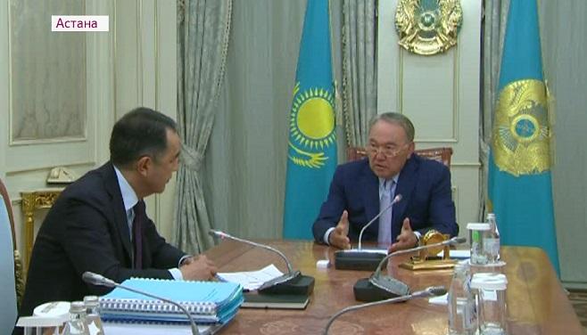 «Аморфно работаем, аморфно!» - Президент Сагинтаеву