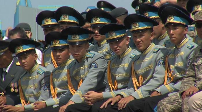 Казахстанские школьники прошли испытания на полигоне Спасск в Карагандинской области