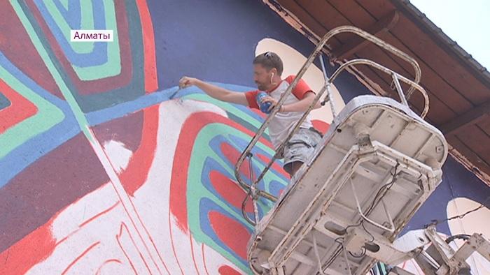 Иностранные художники распишут алматинские здания