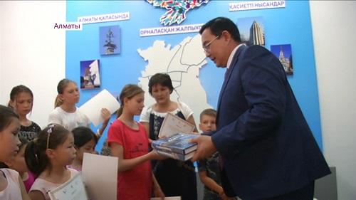 Знания - через квест: в музее Алматы провели необычную экскурсию для воспитанников детдома