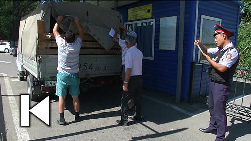 В преддверии Курбан айта в Алматы массово проверяют автомобили с животными
