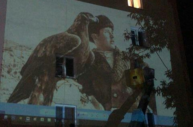Портрет беркутчи появится на павлодарской пятиэтажке ко Дню Конституции