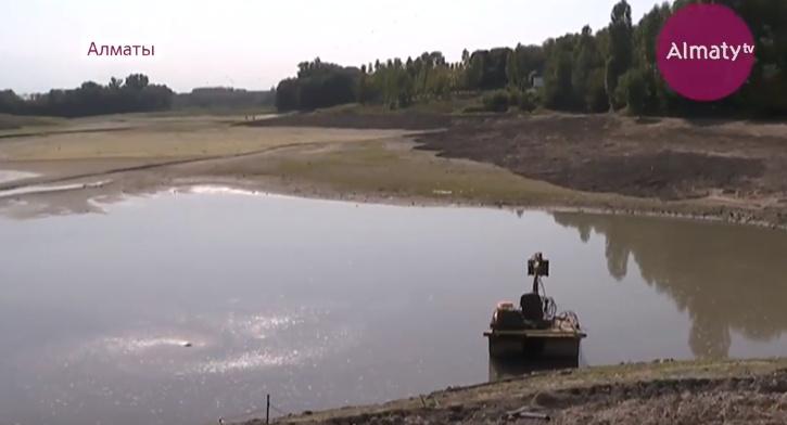 Аэропортовское озеро в Алматы станет неузнаваемым