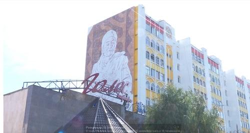 Портреты знаменитых людей на многоэтажках появятся в Костанае