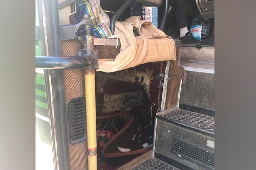 Пассажира в багажнике перевозил водитель автобуса в Акмолинской области