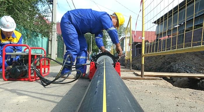 213 км газовых сетей проложено в этом году в Алматы