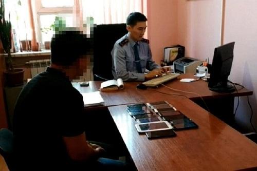 Иностранцу продали 27 краденых телефонов в Таразе