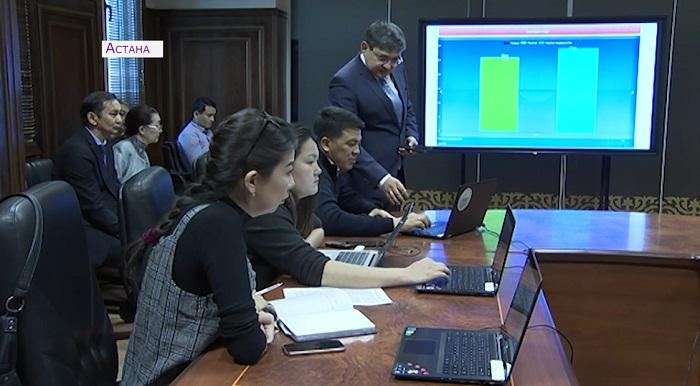 Депутатов Сената в Шымкенте выбрали онлайн