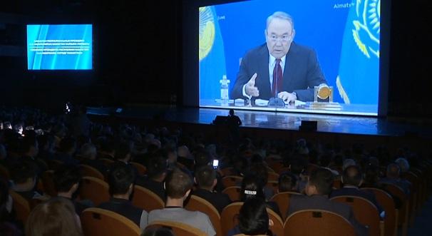 Предприниматели и госслужащие Алматы обсудили Послание Президента