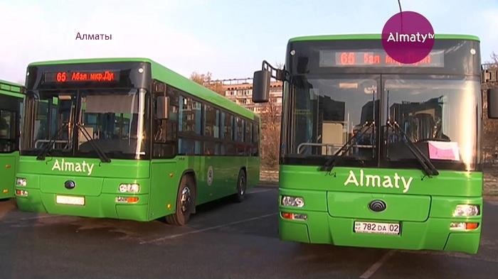 Более тысячи новых автобусов появятся на маршрутах в Алматы до конца года