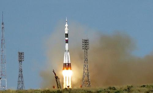 """Авария ракеты """"Союз"""" произошла во время запуска на Байконуре"""