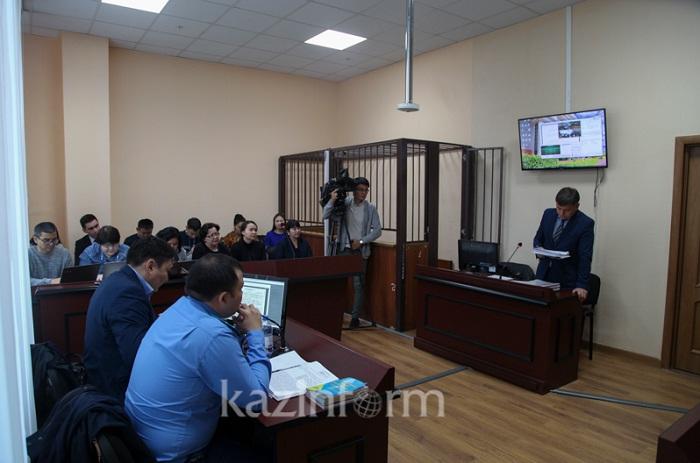 Суд по делу о ДТП с внуком Олжаса Сулейменова начался в Астане