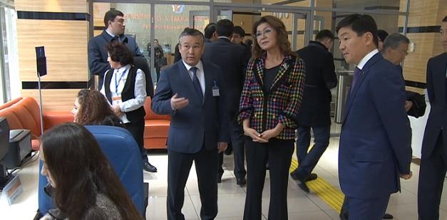 Дарига Назарбаева посетила Open Almaty и Центр занятости