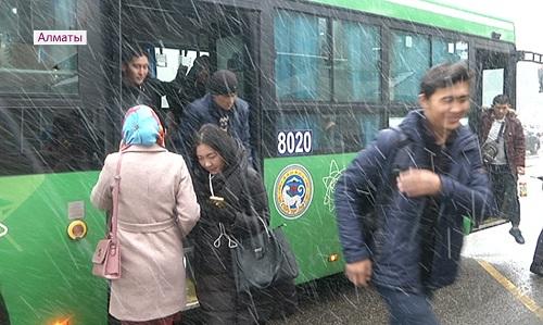 Пригородный маршрут из Каскелена в Алматы обновят до конца года