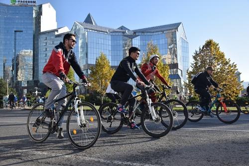 21 октября в Алматы пройдет последний в этом году велопробег