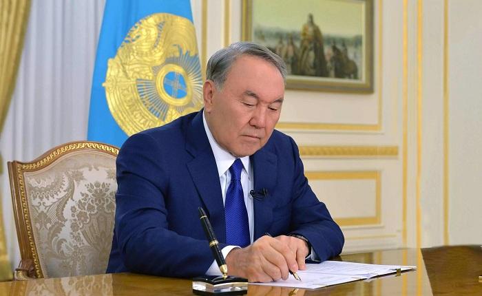 Нурсултан Назарбаев подписал Указ о мерах по реализации Послания