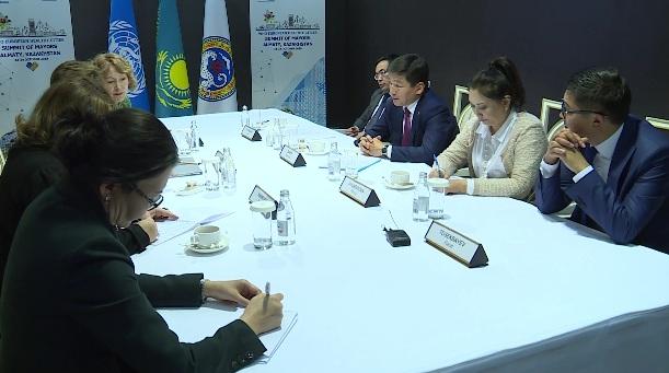 Аким Алматы провел рабочую встречу с главой европейского бюро ВОЗ