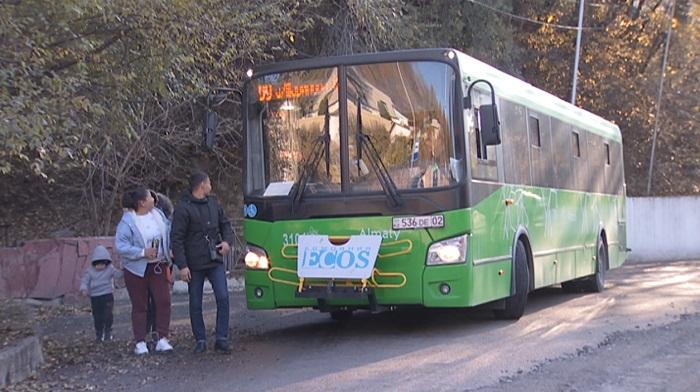 Алматыда №99 бағыттың автобустары жаңарды