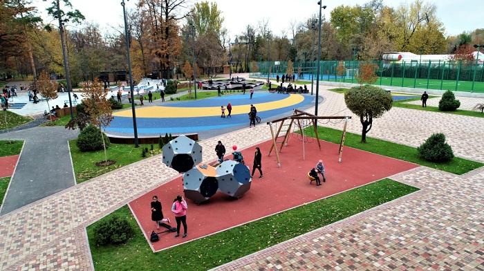 Центральный парк города Алматы после реконструкции (фото)