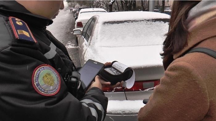 Свыше 70 пешеходов оштрафовали за 1 час в Алматы