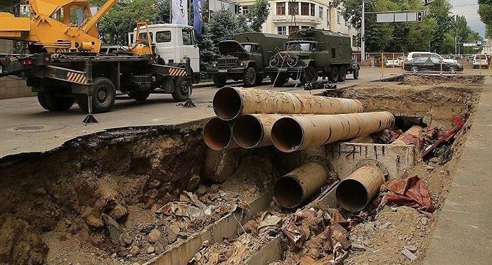 Больше 60% водопроводных сетей в Наурызбайском районе изношены